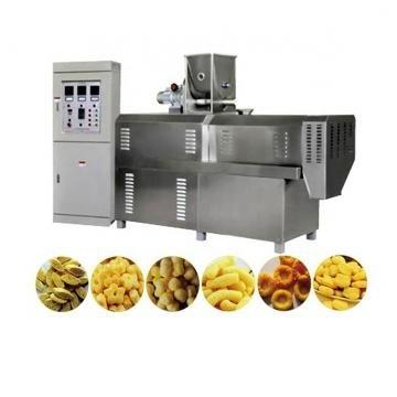 Stainless Steel Extruded Cheetos Snacks Food Kurkure Processing Machinery