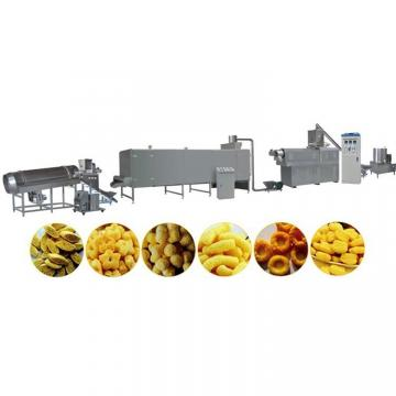 Puffed Rice Extruded Corn Pop Snack Food Extruder Making Machine