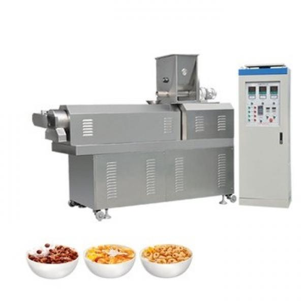 Continuous Automatic Puff Snack Extruder Machine