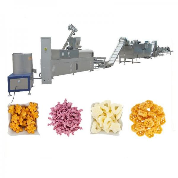Stainless Steel Snack Food Extruder Making Machine