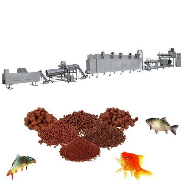 200-300kg/H Pet Food Processing Line, Fish Food Machine
