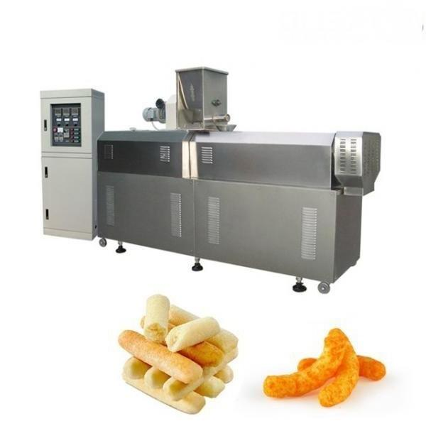 Good Feedback Frying Snacks Extruder Machine Fried Bugle Salad Screw and Other Shapes Snacks Making Machine