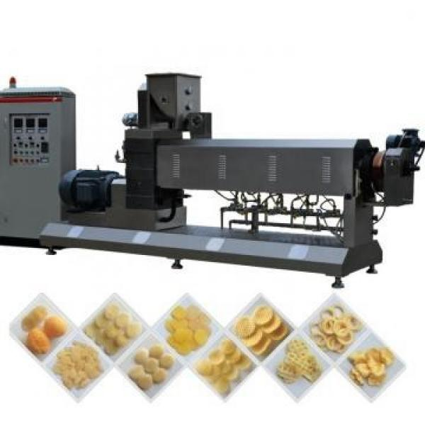 Twin Screw Extruded Corn Puff Chips Snack Food Machine