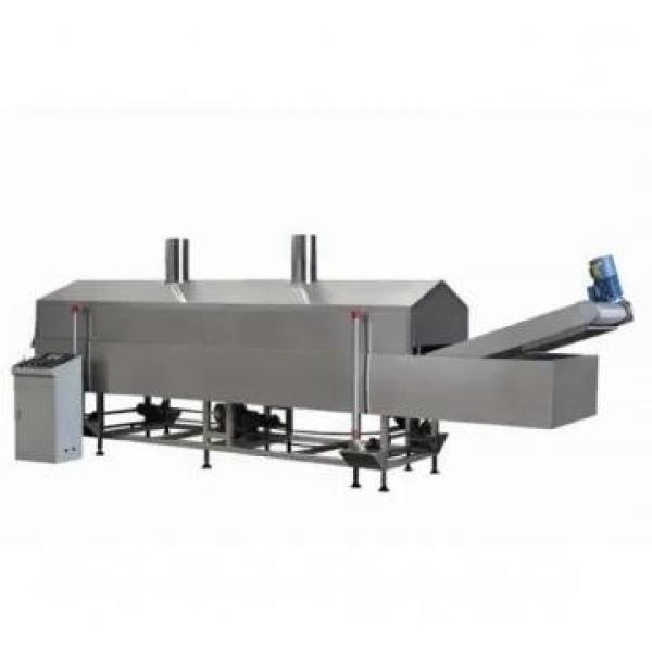 Extruded Wheat Flour Bugles Chips Frying Snacks Food Machine Processing Line