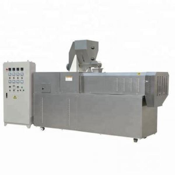 Extruded Puffed Corn Rice Snacks Extruder Processing Machine Puff Crackers Food Bulking Machinery Production Line